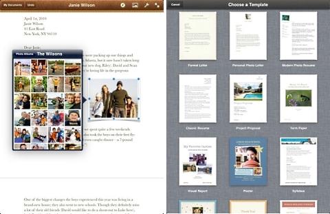 Pages: editor de textos com suporte aos formatos DOC e PDF