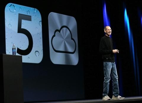 Jobs: iCloud guarda arquivos na nuvem