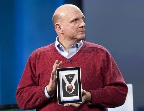 Ballmer: tablet de 2010 ficou para 2011