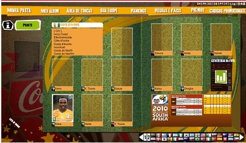 Clube FIFA: agora com álbum virtual