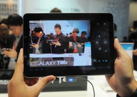 Galaxy Tab 10.1: um dos rivais do iPad 2