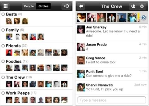 Google+: agora no iPhone