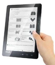 CeBit 2010: Asus mostra novo e-reader