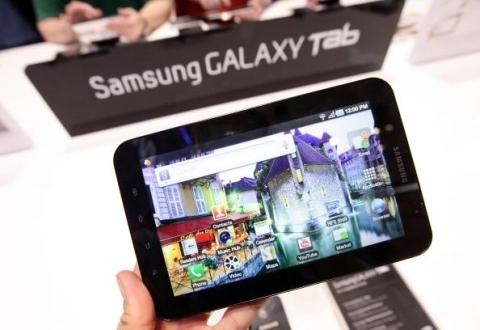 Galaxy Tab s� pode ser recarregado em tomadas convencionais