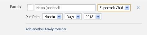 Gravidez no Facebook: agora com opção no perfil do usuário