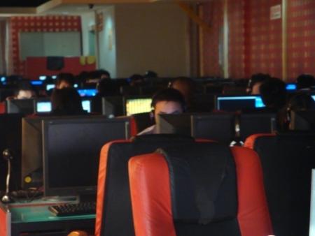 Lan house: popular ponto de acesso à web na China
